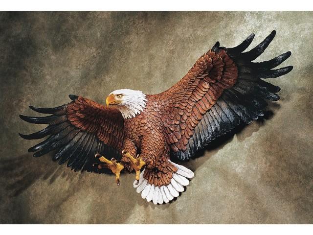Wall mounted Eagle