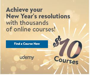 Last Udemy $10 Sale Ever!